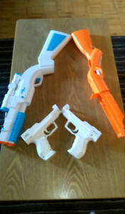 Wii guns accessories in great condition.
