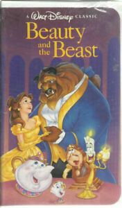 Beauty and the Beast VHS Black Diamond Edition Original Rare Dis