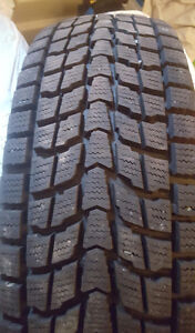 Like new 4 205/70/16 snow tires
