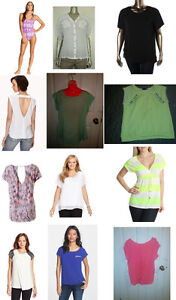 BRAND NEW WOMENS TOPS, SHIRTS, BLOUSES! SZ L / XL! ALL MUST GO