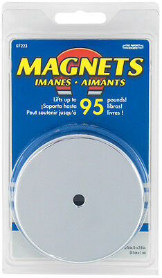 Master Magnetics 07223 3.19d Round Base Magnet 1 Magnet Included