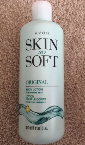 Lot of 2 Avon Skin So Soft Original + Jojoba Body Lotion 11.