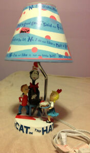 Table Lamp - Cat In The Hat (Collectible)