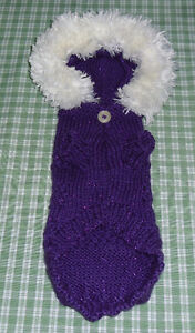 Linda's Pet Sweaters Hand Knitted Easy Care Four Styles Windsor Region Ontario image 3