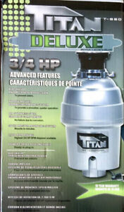 Waste disposer, new