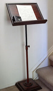 Heavy Durty Wood Music Stand