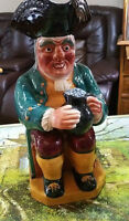 Shorter and Son 12 inch Toby Mug from the 40/50`s Make an offer