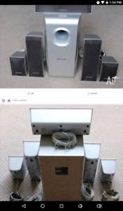 Panosonic 6 PC Wired Speaker Set