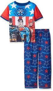2T- Officially Licensed- Justice League 2 PC Pajama Set