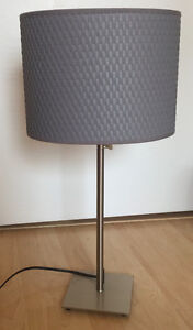 Perfect Condition - Grey Table Lamp