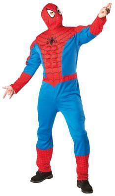 Spider Man Spinnen Mann Spinnenmann Held Helden Kostüm Overall Maske Herren ()