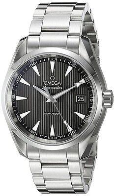 New Omega Seamaster Aqua Terra Quartz Grey Dial Men's Watch 231.10.39.60.06.001