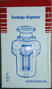 Garbage Garburator or Disposal new in the box