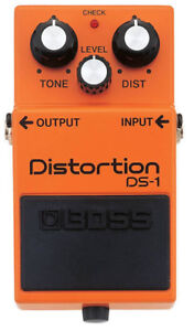 BOSS DS-1 Distortion Pedal - Barely Used In Box