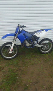 98 125yz in good condition!
