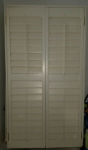 California shutters (4 identical)