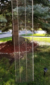 6 ' WIRE SHELVING/BRACKETS-USED AND NEW: 1 X $ 10, LOT IS $30