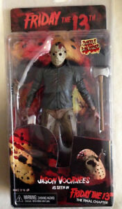 Horror movie figures Jason voorhees neca freddy