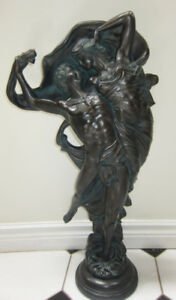 Vintage Austin Sculpture Zephyr and Psyche