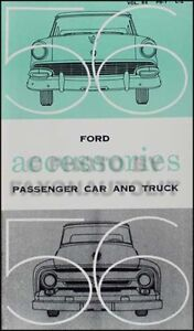 1956 FORD Car & Truck ACCESSORIES... also CHASSIS Parts+ Catalog