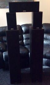 Beng V9B 5 Channel Home Theatre Speaker Set 1240W MAX