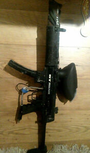 BT delta elite, Tipmann bravo one, veste paintball à vendre