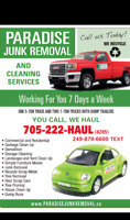 Junk removal & Moving services text or call 249-879-6600