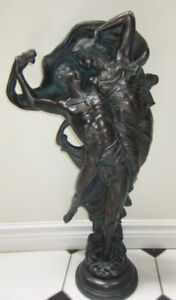 Vintage Austin Productions Sculpture Zephyr and Psyche