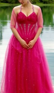 Pink Ball Gown Excellent Condition