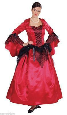 Rokoko Kleid Kostüm Gothic Barock Mittelalter Damen Rokokokostüm Vampir Marquise
