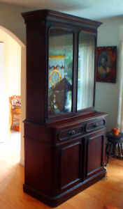 Antique Bookcase and Cabinet