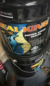 2 Seal king unopened paving stone buckets