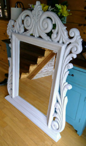 Large Mirror in ornate frame