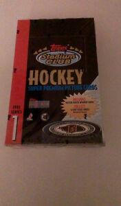 Topps stadium wax box 1993 hockey cards 36 packs sceller Saint-Hyacinthe Québec image 1
