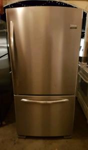 Stainless steel fridge!