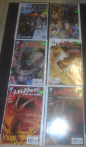 HORROR COMICS FRIDAY 13TH NIGHTMARE ELM ST LEATHERFACE