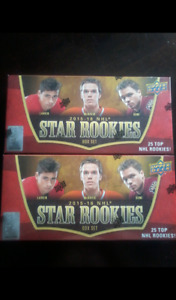 2015-16 Upper Deck Star Rookies Factory Sealed Hockey Cards