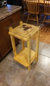 Hand Crafted End Table