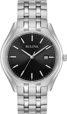 Bulova Men's 96B265 Silver Stainless-Steel Quartz Watch