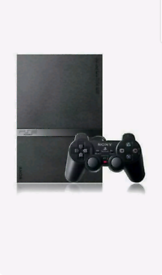 Sony PlayStation 2 Slim Launch Edition Charcoal Black Console & More