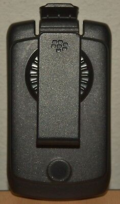 BlackBerry 8350i Black Plastic Holster with Swivel Belt Clip Blackberry 8350i Holster