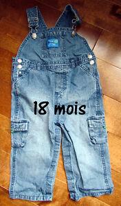 Chemises et salopettes pour bébé de 3 à 24 mois Saguenay Saguenay-Lac-Saint-Jean image 5