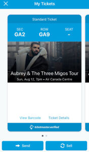 *FLOOR SEATS* to the Aubrey & The Three Migos Tour