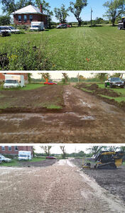 Driveway removal, excavating, grading, and demolition in K-W Kitchener / Waterloo Kitchener Area image 2