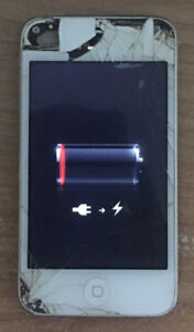 iPod touch 4th gen 8 GB White $25 obo