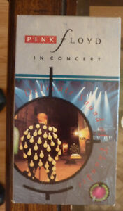 PINK FLOYD IN CONCERT DELICATE SOUND OF THUNDER VHS VIDEO