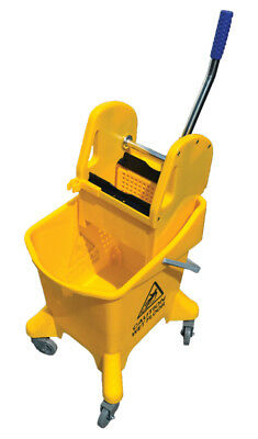 Mop Bucket With Wringer Down Press 8 Gallons