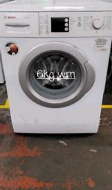 Bosch 6kg washing machine free delivery in derby