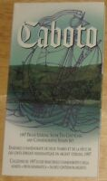Cabotto Canadian coin or stamp collecting commemorative