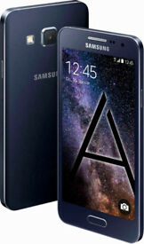 Unlocked Samsung Galaxy A3 Mobile Phone - Black 16GB